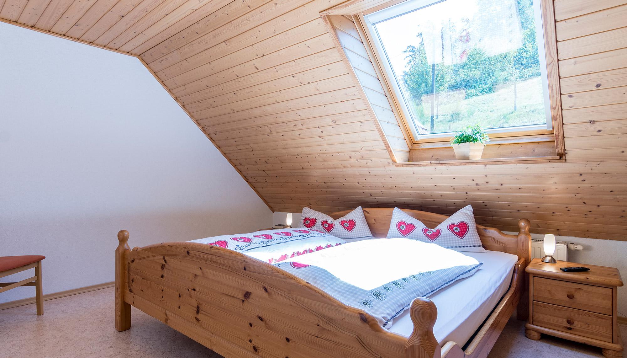 Ferienwohnung Wolkenheim Schlafzimmer