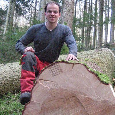 Forstwirt Andreas Springmann